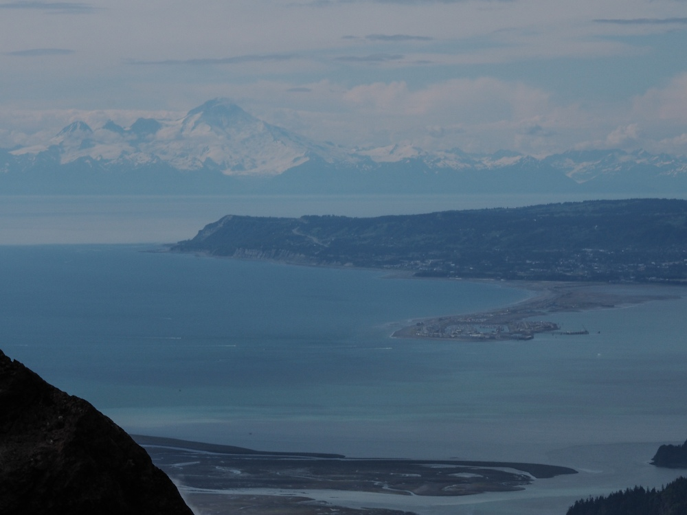 Homer and Mt Redoubt